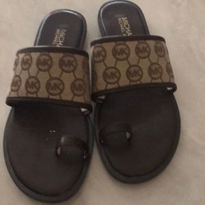 MK sandals used but in great shape